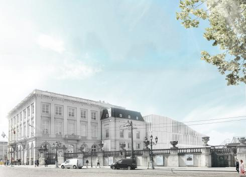 The future site of 'LE CHAT cartoon museum'. © sau-msi.brussels (Adrien Mans)