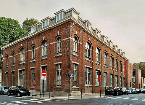 The old secondary power station.  © monument.heritage.brussels