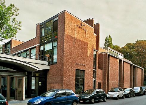 The contemporary building.  © monument.heritage.brussels