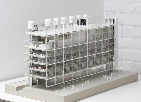 SAU-MSI launches public procurement procedure for the construction of Frame, the showcase for mediapark.brussels