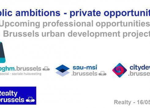 The SAU-MSI at the Realty Brussels 2018 trade fair